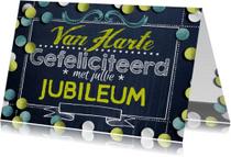 Jubileumkaarten - YVON felicitatie confetti