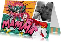 Moederdag kaarten - YVON moederdag super mama