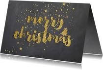 Zakelijke kerstkaarten - Zakelijk kerstkaart - krijtbord