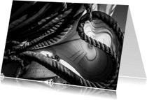 Wenskaarten divers - zeil touw