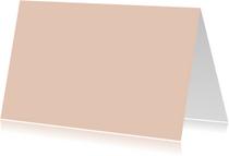 Blanco kaarten - Zilver roze dubbel liggend