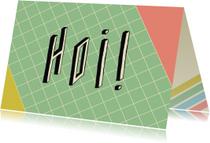 Zomaar kaarten - Zomaar-80's grid-HK