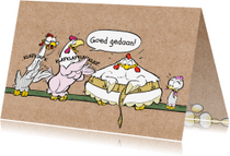 Zomaar kaarten - Zomaar felicitatie dieet - A