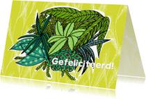 Verjaardagskaarten - Zomaar kaarten - kamerplant