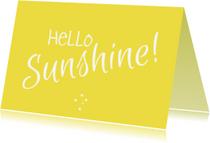 Zomaar kaarten - Zomaar kaartje Sunshine