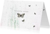 Zomaar kaarten - Zomaarkaart Butterfly Kisses