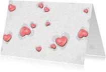 Zomaar kaarten - Zomaarkaart Een Handvol Hartjes