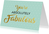 Zomaar kaarten - Zomaarkaart fabulous