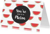 Zomaar kaarten - Zomaarkaart Meloen