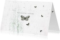 Zomaar kaarten - Zomaarkaartje butterfly kisses