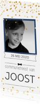 Communiekaarten - Communie confetti boy