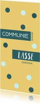 Communiekaarten - Communie uitnodiging Daan