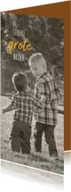 Condoleancekaarten - Condoleance foto grote broer
