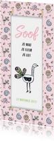 Geboortekaartjes - Geboorte lieve pauw