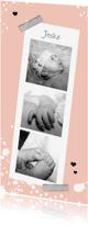 Geboortekaartjes - Geboorte meisje Jitske