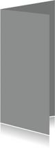 Blanco kaarten - Grijs dubbel langwerpig