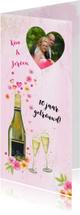 Jubileumkaarten - Huwelijksjubileum feestje