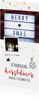 Kerstdiner uitnodiging / ZO