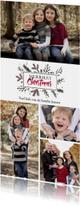 Kerstkaarten - Kerstkaart Elegant Kerst Dennentakjes