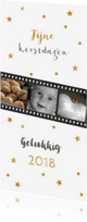 Kerstkaarten - Kerstkaart langwerpig fotostrip - BC