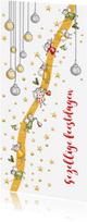 Kerstkaarten - Kerstkaart mini engeltjes