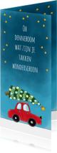 Kerstkaarten - Kerstkaart Oh denneboom - Sk