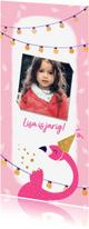 Kinderfeestjes - Kinderfeestje Flamingo lampjes