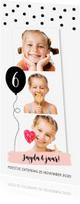 Kinderfeestjes - Kinderfeestje fotocollage langwerpig confetti ballon