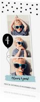 Kinderfeestjes - Kinderfeestje fotocollage langwerpig confetti jongen - LB