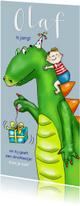 Kinderfeestjes - Kinderfeestje - jongetje met dinosaurus