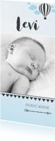 Geboortekaartjes - Little boy