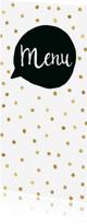 Menukaarten - Menukaart Tekstballon