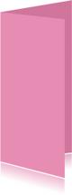 Blanco kaarten - Roze dubbel langwerpig