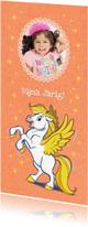 Kinderfeestjes - Uitnodiging Florian girl lang