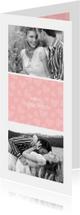 Valentijnskaarten - Valentijnskaart I love you met foto's en hartjes