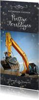 Zakelijke kerstkaarten - Zakelijke kerstkaart voor een bouwbedrijf evt.
