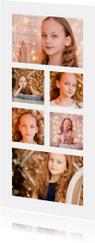 Collage Kinderfeestje langwerpig met 6 foto's