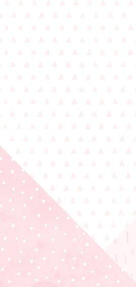 Geboortekaartje geometrische vormen en confetti meisje 2