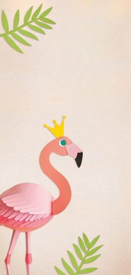 Kinderfeestje flamingo 2