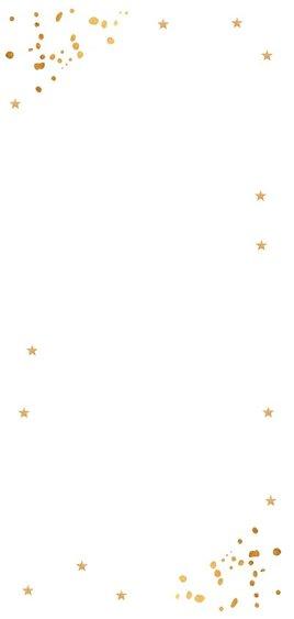 Nieuwjaarskaart langwerpig goud confetti foto 2