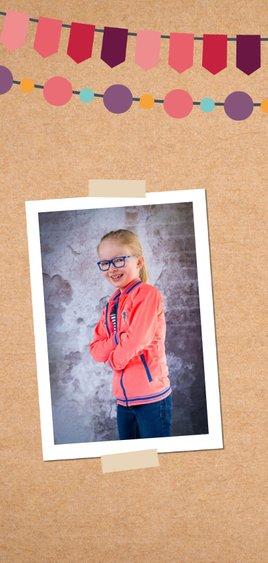Verjaardagskaart meisje 9 jaar 2
