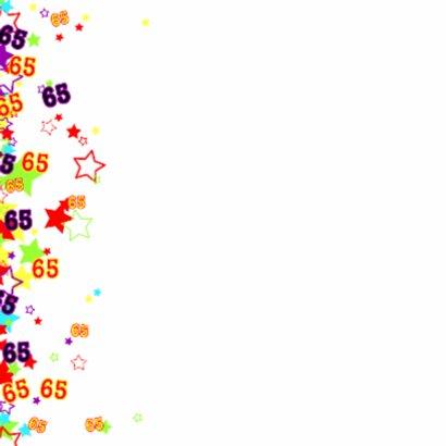 65 Vrolijke kaart met sterren 2