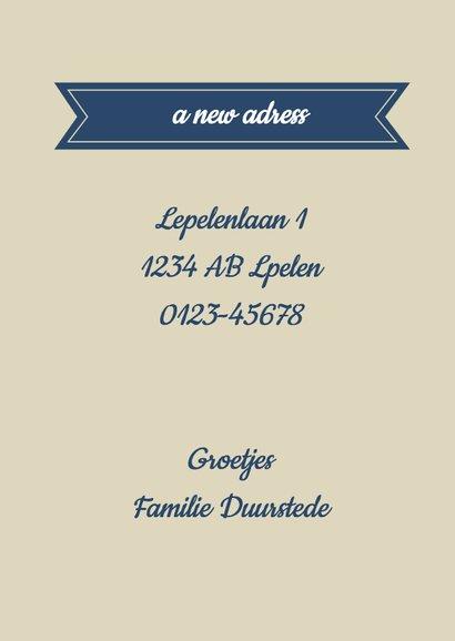 A new home... a new adress - BK 3