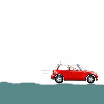auto mini cooper rood 3