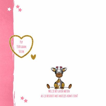 Baby lief en glamour girafje 2
