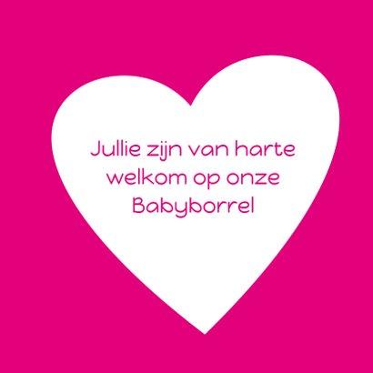 babyborrel met hart roze 3