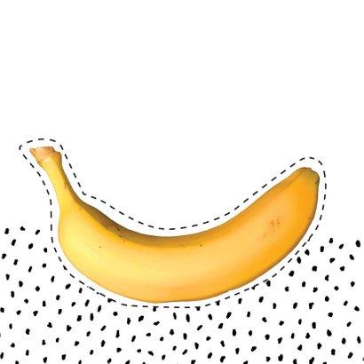 Beterschap banaan gezicht 2