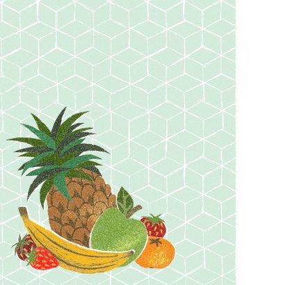 Beterschapskaart fruit abstracte stijl  2