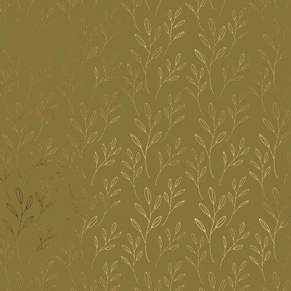 Beterschapskaart gouden takjes 2