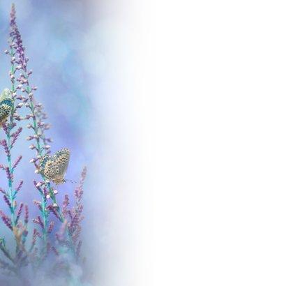 Blauw vlinder-fantasie 3